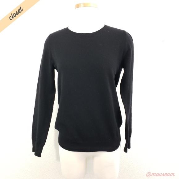 ffdbed7c DKNY Sweaters   Black Merino Wool Crewneck Sweater   Poshmark